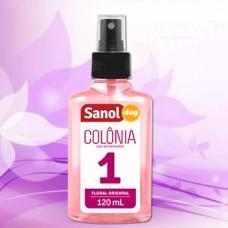256 - COLONIA SANOL N.1 FEMEA 120 ML