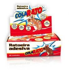 598 - RATOEIRA ADESIVA COLA RATO C/20