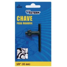 664340 - CHAVE MANDRIL 3/8 10MM WESTERN (4340)