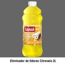 343 - ELIM ODORES SANOL DOG CITRONELA 6X2LT