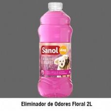 344 - ELIM ODORES SANOL DOG FLORAL 6X2LT