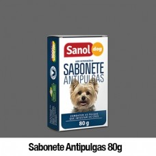 266 - SABONETE SANOL ANTIPULGAS 80 GRS