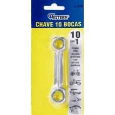 666010 - CHAVE BIKE 10X1 BOCA WESTERN (B-10)