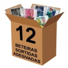 16326 - BETEIRA TURQ. ADESIV SORT PERSONAG C/12