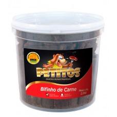 8220 - BIFINHO PETITOS CARNE BALDE 2,5KG